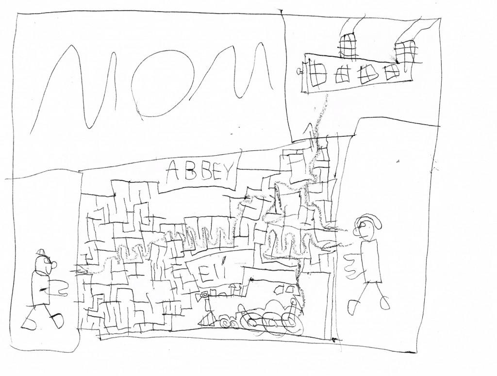 Original maze, 6 years old.